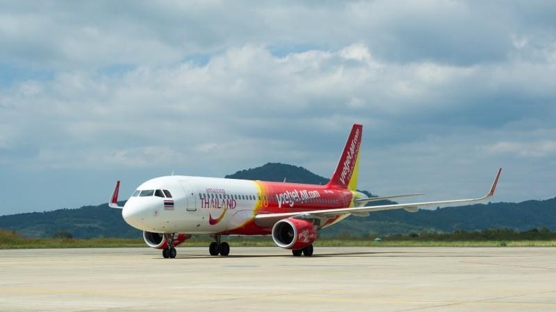 Vietjet tiếp tục công bố khuyến mại lớn cho các đường bay tại Thái Lan với giá chỉ từ 9 Baht