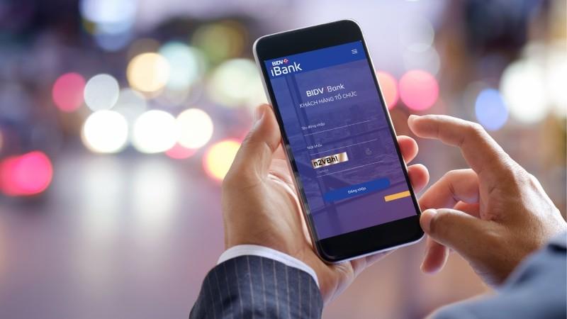 Tặng phí chuyển tiền cho khách hàng đăng ký mới BIDV iBank