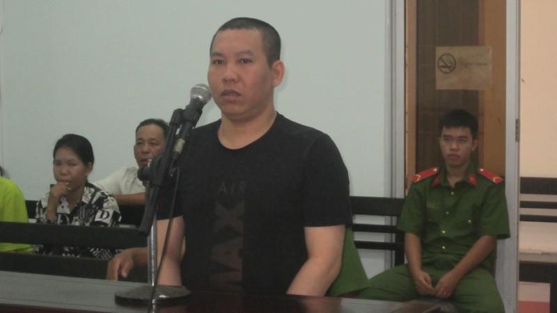 Bị cáo Hào tại tòa