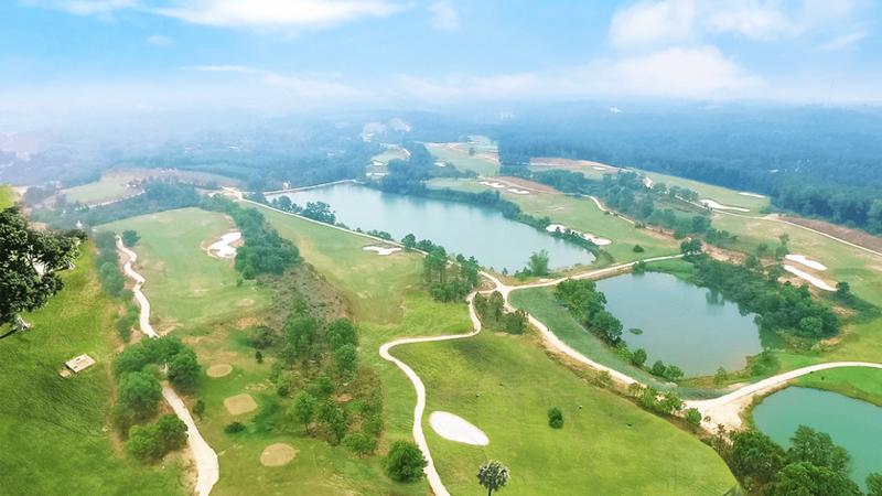 Quần thể sân Golf Thiên An, điểm nhấn du lịch 5 sao giữa lòng thành phố Huế