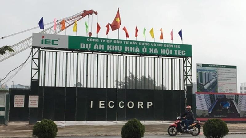 Dự án như IEC (Thanh Trì, Hà Nội) được môi giới rao bán giá 16 triệu đồng/m2