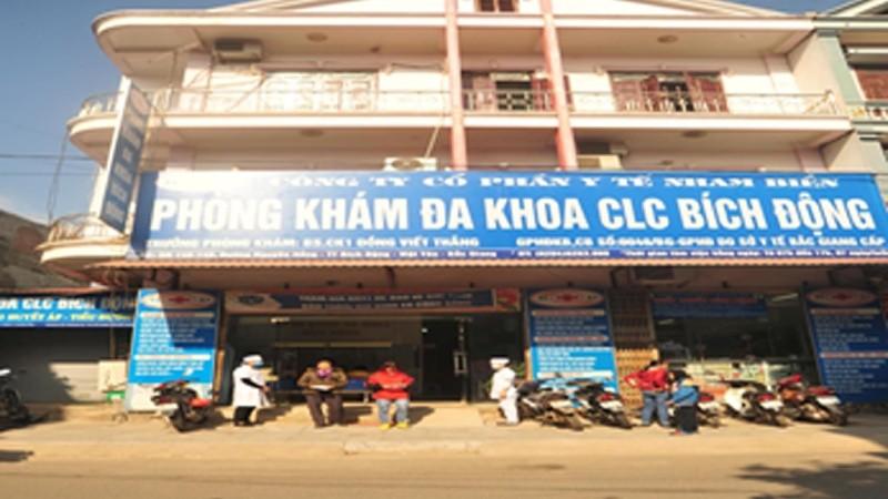 Việt Yên, Bắc Giang: Sai phạm tại Phòng khám Đa khoa chất lượng cao Bích Động