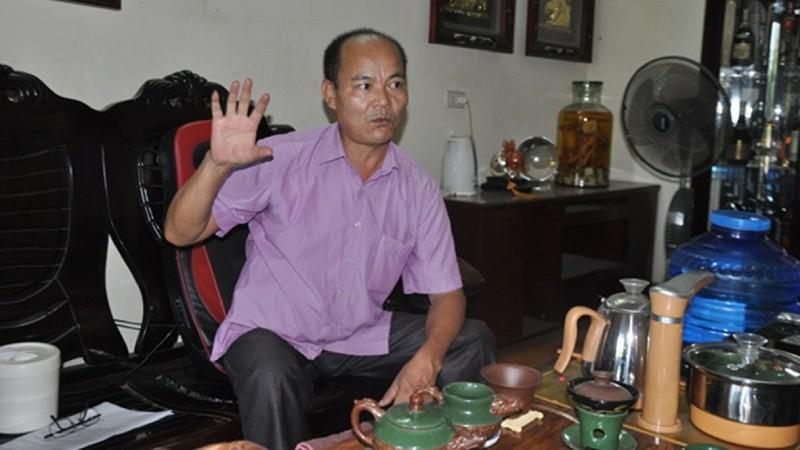 Chủ DNTN Hậu Giang Trần Văn Hậu bức xúc trước phán quyết  của TAND tỉnh Lào Cai