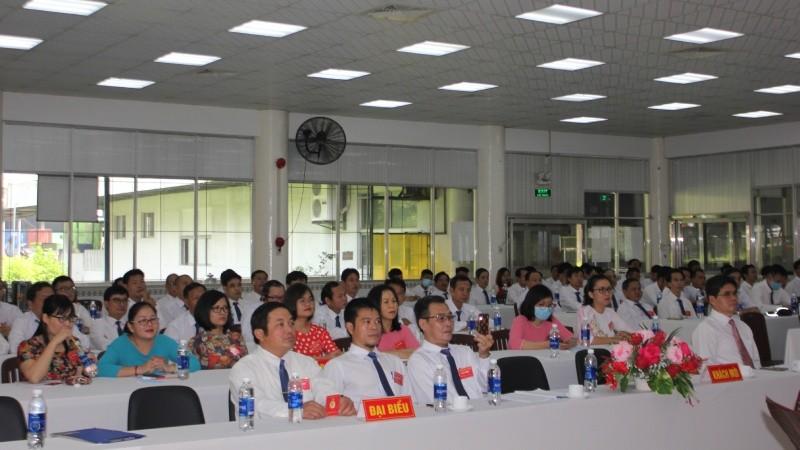 Toàn thể đại biểu tham gia Đại hội Đảng bộ Công ty CP Vedan Việt Nam lần thứ V và bầu chọn Ban Chấp hành nhiệm kỳ mới (2020 - 2025)