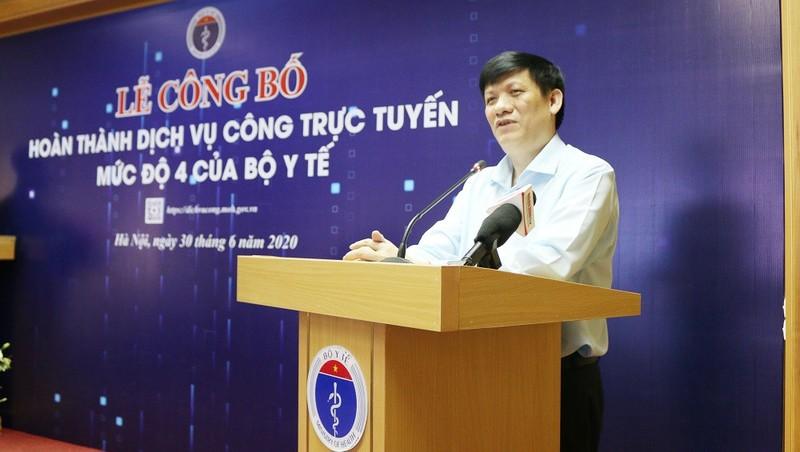 Ông Nguyễn Thanh Long làm quyền Bộ trưởng Bộ Y tế