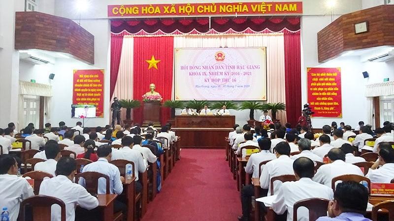 Kỳ họp thứ 16, HĐND tỉnh Hậu Giang khóa IX dự kiến diễn ra trong 1,5 ngày, với 3 phiên họp