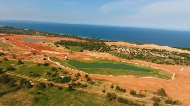 Sân Gôn Nova PGA Ocean đã hoàn thiện phần tạo hình và đang trồng cỏ, dự kiến sẽ được hoàn thành và đưa vào hoạt động từ tháng 12/2020