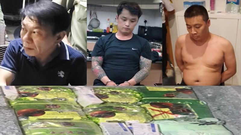 """Phá án vụ """"cựu cảnh sát Hàn Quốc cầm đầu đường dây ma túy"""""""