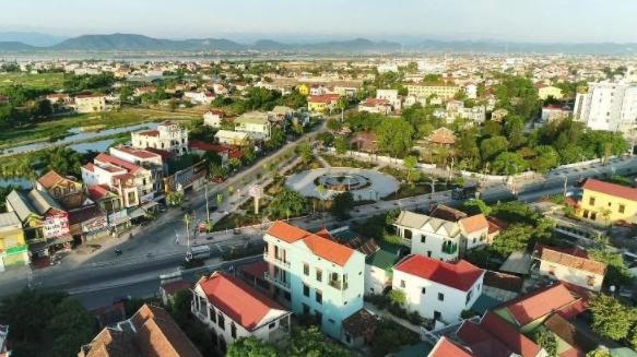 Một góc thị xã Ba Đồn