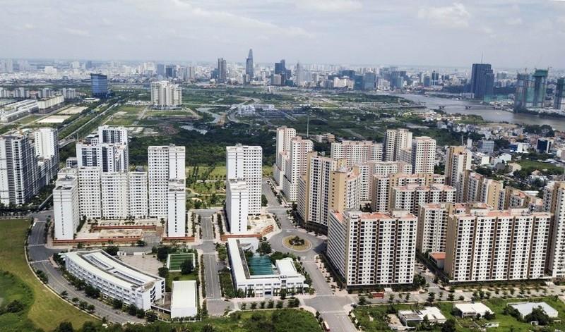 Khu đô thị mới Thủ Thiêm, phân khu chính của TP Thủ Đức tương lai.