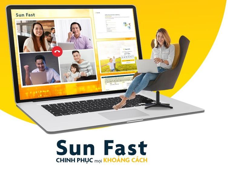 Sun Fast là một công cụ hỗ trợ cho đội ngũ Tư vấn Tài chính trong việc tiếp cận, tư vấn và hoàn tất bộ hồ sơ yêu cầu bảo hiểm của Khách hàng mà không cần gặp mặt trực tiếp.