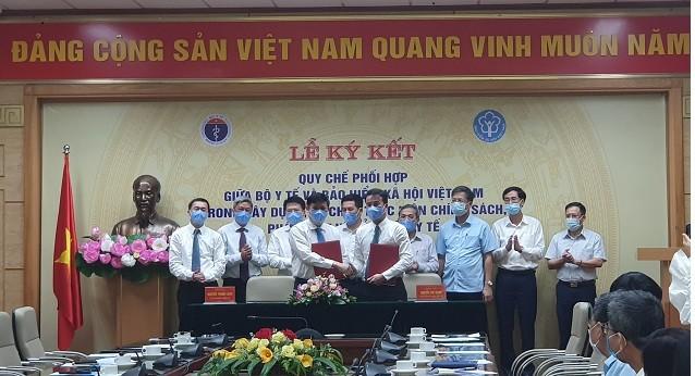 Bảo hiểm xã hội Việt Nam - Bộ Y tế: Ký kết quy chế phối hợp trong thực hiện chính sách, pháp luật về BHYT