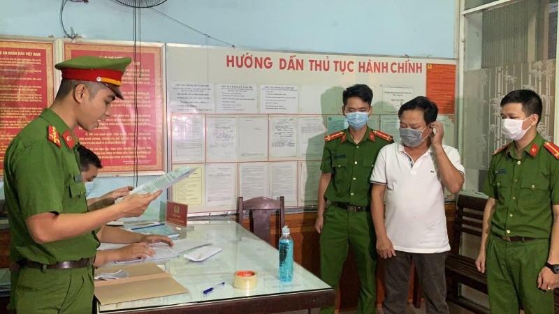 Công an bắt tạm giam Phạm Thanh với tội danh cưỡng đoạt tài sản.