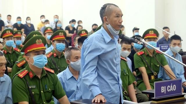 Bị cáo Lê Đình Chức đã tỏ ra ăn năn hối lỗi khi nói lời sau cùng.