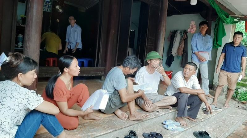 Người dân thôn 2 cho rằng quá trình giải phóng mặt bằng dự án chưa công khai, minh bạch.