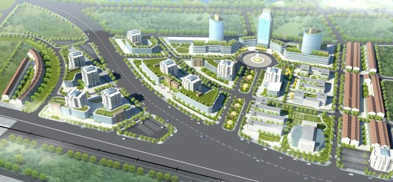 Mô hình Khu giáo dục Nguyễn Trãi.