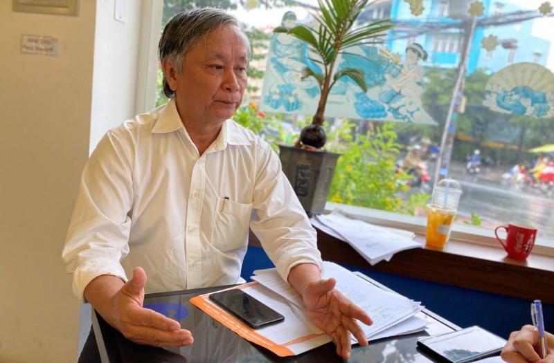 Bác sĩ Lê Thanh Liêm, nguyên GĐ Sở Y tế Long An