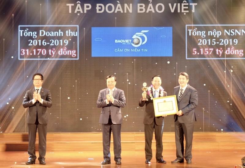 Tập đoàn Bảo Việt nộp ngân sách Nhà nước 23.000 tỷ đồng