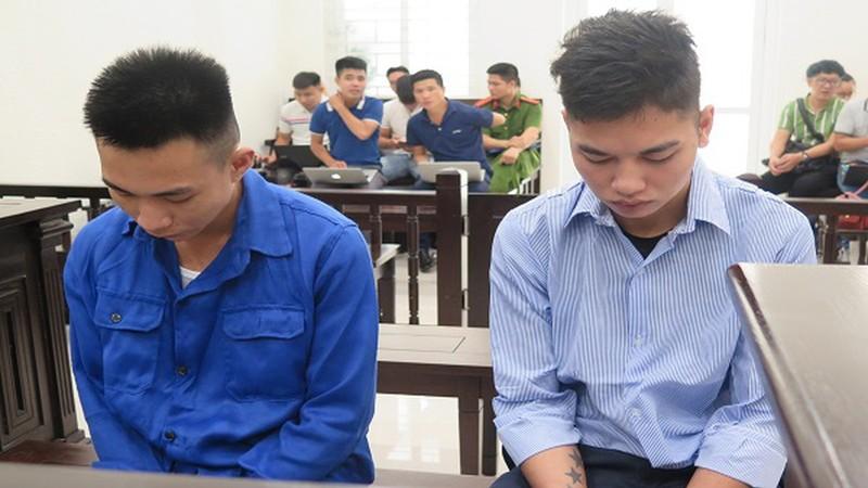 Các bị cáo tại phiên tòa sơ thẩm hồi tháng 6/2020.