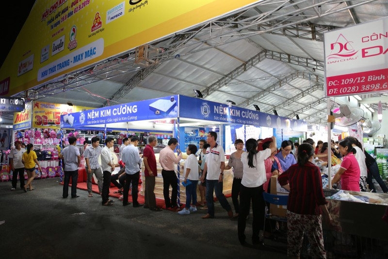 TP HCM khai mạc hội chợ khuyến mại năm 2020