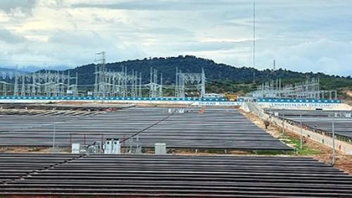 Trạm biến áp 500 kV đã được Trungnam Group khánh thành.