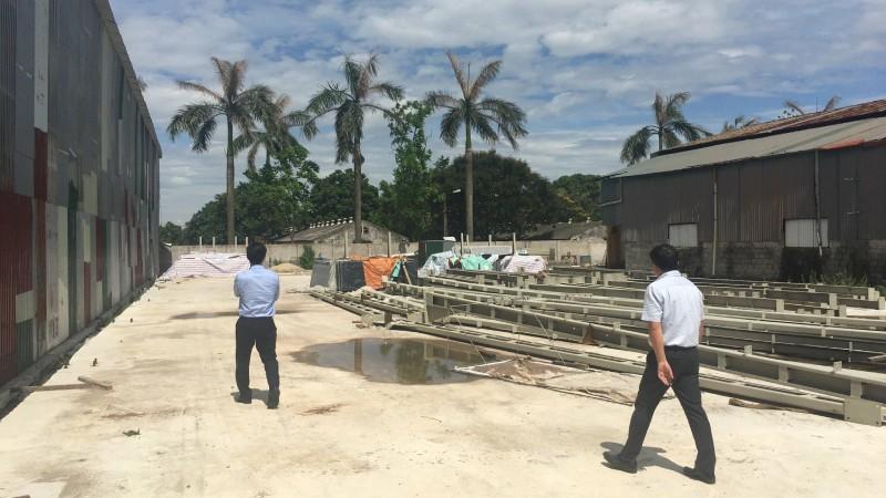 Ông Hùng cho biết mình đã tháo dỡ một số công trình từ tháng 7/2020. (Ảnh do ông Hùng cung cấp)