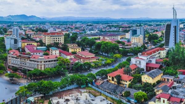 Một góc TP Thái Nguyên.