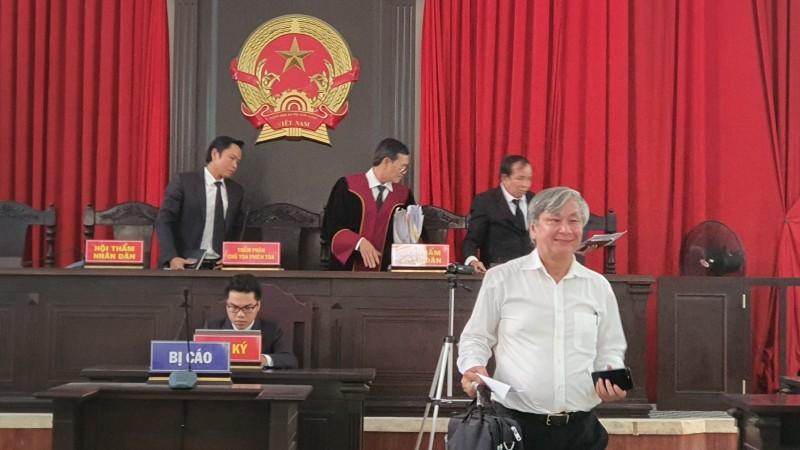 """Ông Liêm cho biết sẽ kháng cáo kêu oan đến cùng vì """"bản án sơ thẩm đã buộc tội oan sai""""."""