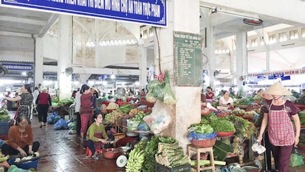Gỡ khó trong xây dựng chợ an toàn thực phẩm