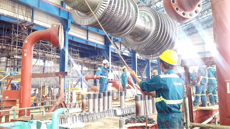 Lắp đặt thiết bị tại Nhà máy nhiệt điện Thái Bình 2.