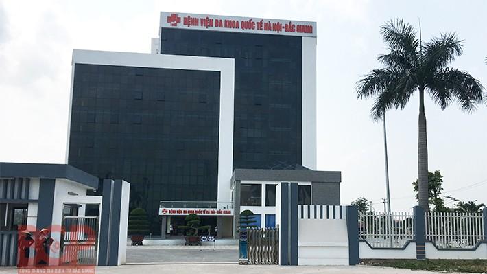 Bệnh viện Đa khoa quốc tế Hà Nội – Bắc Giang.