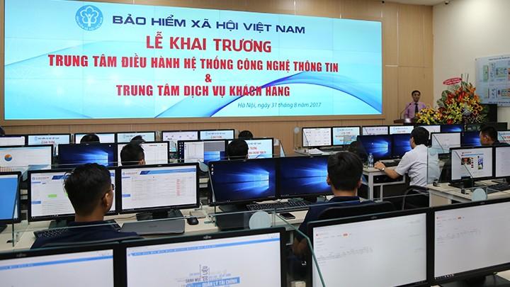 BHXH Việt Nam tiếp tục đứng đầu bảng xếp hạng ứng dụng CNTT trong khối các cơ quan thuộc Chính phủ.