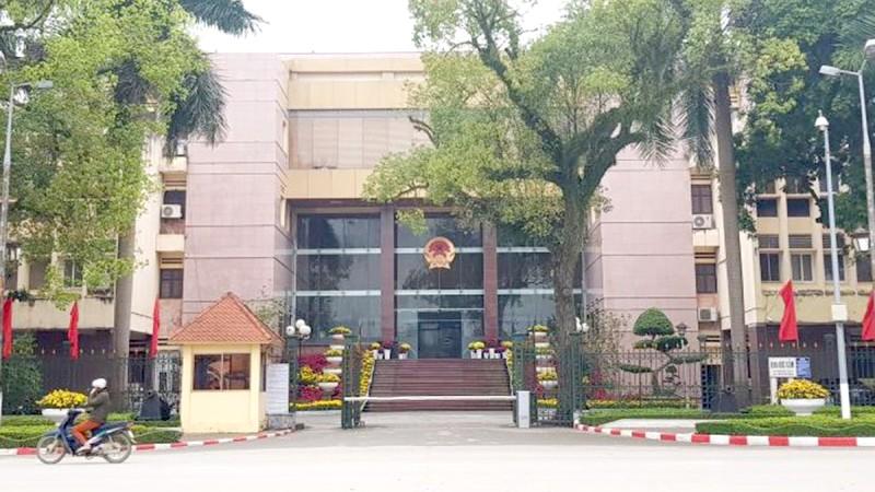 Trụ sở UBND tỉnh Lạng Sơn.