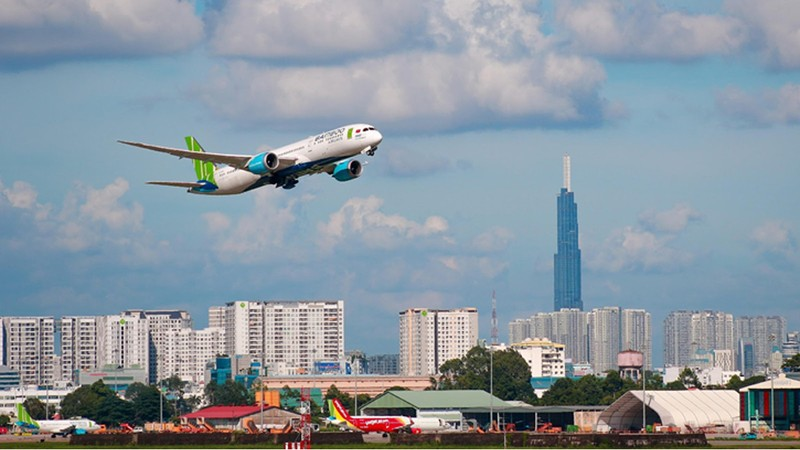 Nhiều hãng bay đang tăng cường bay nội địa.  Ảnh minh họa.