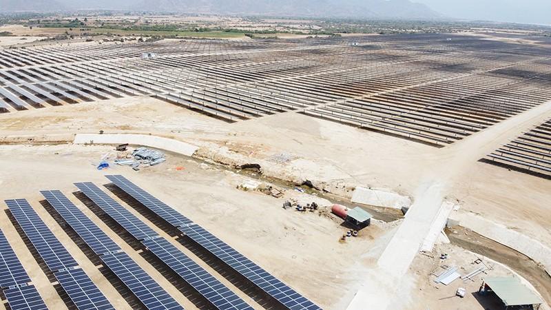 Dự án điện mặt trời của Thiên Tân Solar.