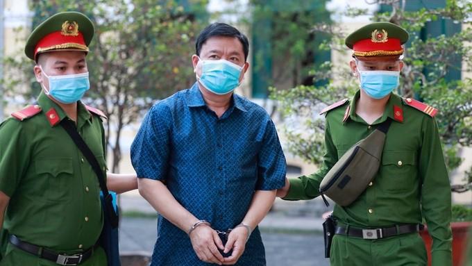 """Phiên xử ông Đinh La Thăng: """"Có những bị cáo đến đây tôi mới gặp, chứ không tác động gì"""""""
