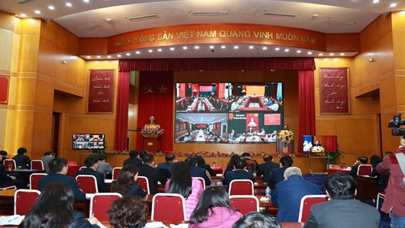 Hội nghị tổng kết công tác năm 2020, nhiệm vụ và giải pháp năm 2021 hôm 16/12 của Kho bạc Nhà nước.