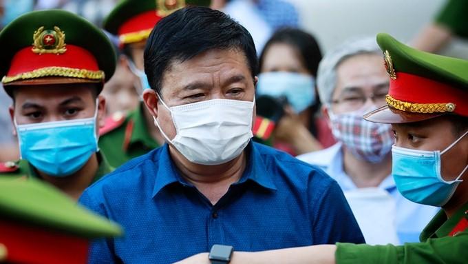 Ông Thăng tại phiên xử ngày 21/12/2020.