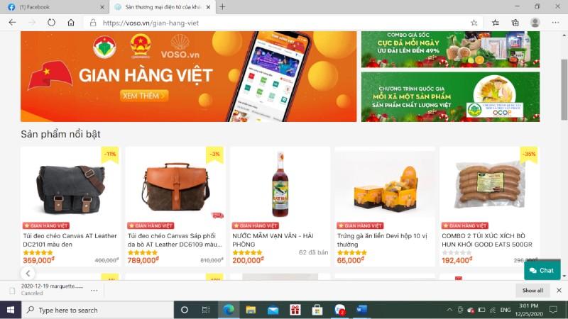 Kỳ vọng siêu thị hàng Việt online