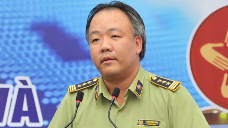 Tổng cục trưởng Tổng cục Quản lý thị trường Trần Hữu Linh