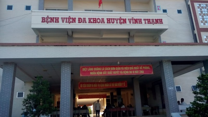 Bệnh viện Đa khoa huyện Vĩnh Thạnh.
