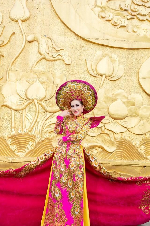 Hoa hậu Doanh nhân Toàn năng châu Á Ngân Nguyễn:Khát vọng vươn tầm cao mới - Ảnh 4