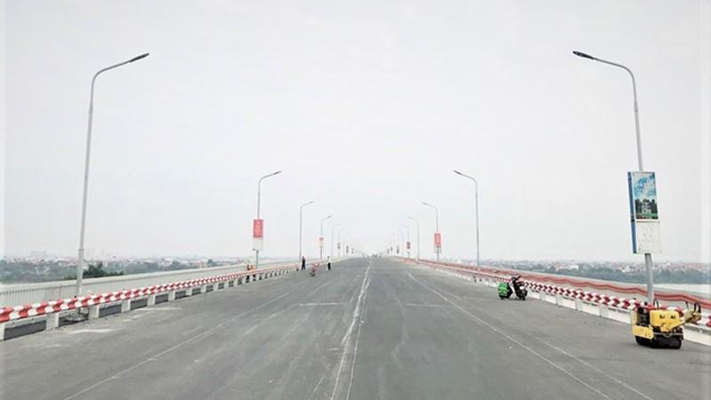 """Thông xe cầu Thăng Long: Giải tỏa """"điểm nghẽn"""" giao thông phía Bắc Thủ đô"""