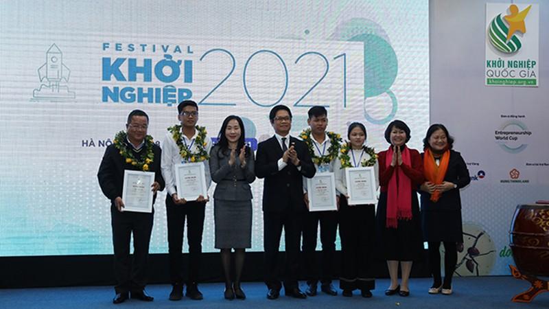 Phát động Chương trình Khởi nghiệp Quốc gia 2021: Hướng đến các sáng kiến về mô hình kinh doanh bền vững!