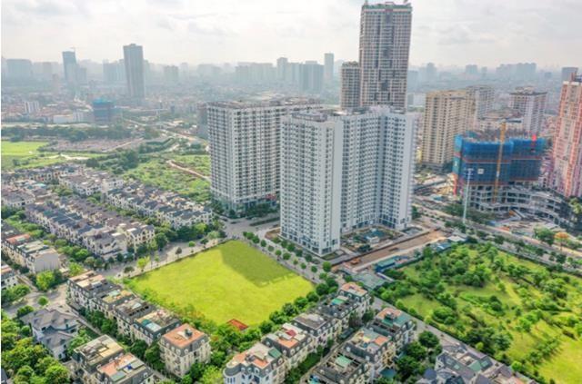 Anland Premium nằm ngay cửa ngõ Khu đô thị Dương Nội