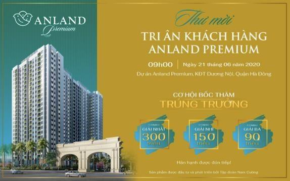 Sự kiện tri ân khách hàng dự án Anland Premium vào ngày 21/6
