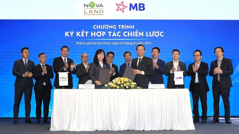 MB và Novaland ký kết hợp tác chiến lược