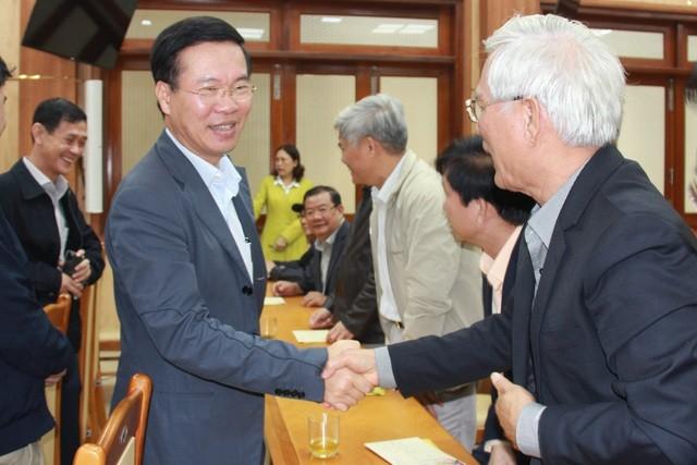 Trưởng Ban Tuyên giáo Trung ương Võ Văn Thưởng chúc Tết tại Quảng Ngãi - 1