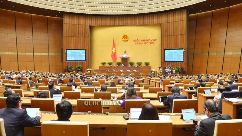 Kỳ họp thứ 9, Quốc hội khóa XIV đã biểu quyết thông qua Nghị quyết về thí điểm tổ chức mô hình chính quyền đô thị tại TP Đà Nẵng.