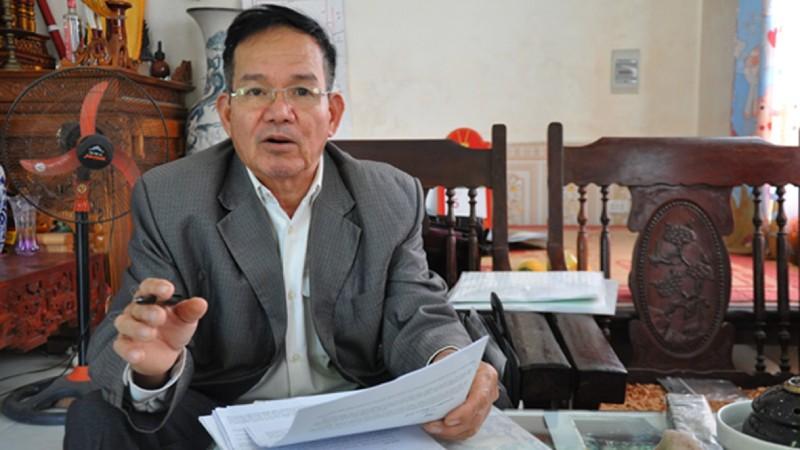 Ông Đỗ Văn Nhẹ, đại diện gia đình bị hại.
